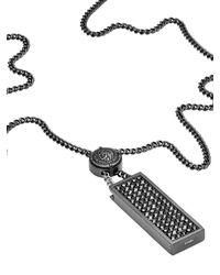 DIESEL | Metallic Necklace Dx0946 for Men | Lyst