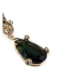 Anabela Chan | 'Green Feather' 18K Gold Tourmaline Drop Earrings | Lyst