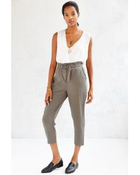 Kimchi Blue | Natural Apron Cross-over Pant | Lyst