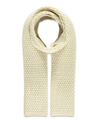 Forever 21 | Natural Chunky Knit Scarf | Lyst
