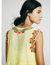 Free People - Yellow Fp One Modern Mexico Dress - Lyst