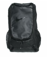 Nike - Black Leather Backpack With Logo for Men - Lyst