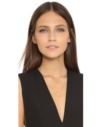 Jennifer Zeuner | Metallic Abbey Layered Necklace - Gold | Lyst