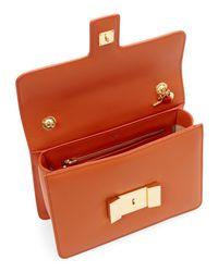 Tom Ford - Red Orange Sienna T-Flap Medium Shoulder Bag - Lyst