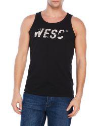 Wesc | Black Maddock Tank for Men | Lyst