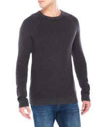 Cheap Monday | Black Friction Knit Sweater for Men | Lyst