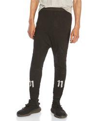 boris bidjan - Black Reflective Tie-Dye Leggings for Men - Lyst