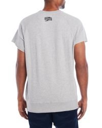 Billionaire Boys Club - Ice Cream - Gray Bb Helmet Short Sleeve Sweatshirt for Men - Lyst