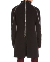 Incarnation - Black Wool Coat for Men - Lyst