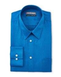 Geoffrey Beene - Blue Hawaii Bedford Cord Classic Fit Shirt for Men - Lyst