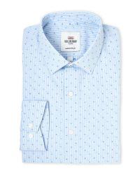 Ben Sherman   Blue Tailored Slim Fit Dress Shirt for Men   Lyst