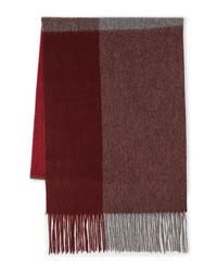 Original Penguin | Red Chunky Knit Scarf for Men | Lyst