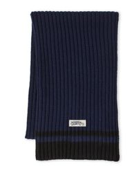 Original Penguin | Blue Chunky Knit Scarf for Men | Lyst