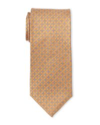 Pierre Cardin - Orange Silk Link Tie for Men - Lyst