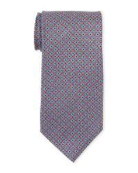 Pierre Cardin | Blue Silk Flower Tie for Men | Lyst