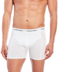 Calvin Klein - White 3-Pack Boxer Briefs for Men - Lyst