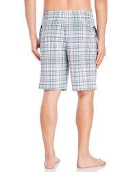 Calvin Klein - Multicolor Woven Pajama Shorts for Men - Lyst