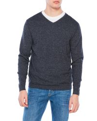 Weatherproof | Blue V-Neck Sweater for Men | Lyst