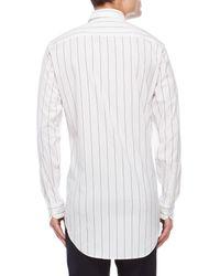 J.Lindeberg - White David Pop Stripe Sport Shirt for Men - Lyst
