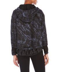 D'deMOO - Black Printed Hooded Jacket - Lyst