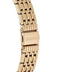 Seiko - Metallic Sup270 Gold-tone Watch - Lyst