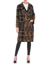 Rachel Zoe | Metallic Plaid Coat | Lyst