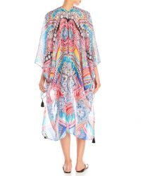 Pilyq - Multicolor Tie-Dye Tassel Kimono - Lyst
