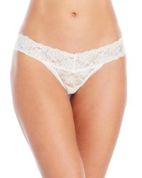 Jessica Simpson | Blue Two-Pack I Do Bridal Lace Thongs | Lyst