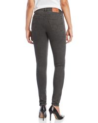 Levi's Black Widow 721 Vintage High-rise Skinny Jeans