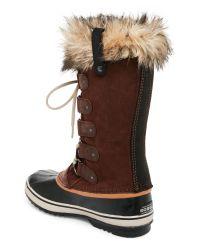 Sorel - Brown ® Women ́s Winter Fancy Lace Ii Waterproof Boots - Lyst