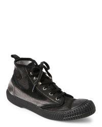 DIESEL | Black Dragon 94 Draags94 Mid Sneakers for Men | Lyst