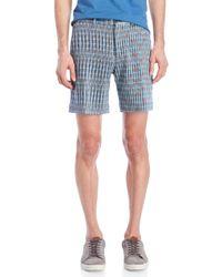 Missoni - Blue Knit Bermuda Shorts for Men - Lyst