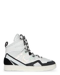Marc By Marc Jacobs - Off White & Black Ninja High Top Sneakers for Men - Lyst
