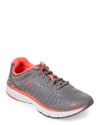 Ryka - Gray Grey & Coral Indigo Running Sneakers - Lyst