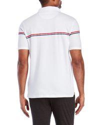 Fila - White Martelli Stripe Polo for Men - Lyst