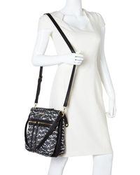 Franco Sarto - Black Nylon Melinda Messenger Bag - Lyst