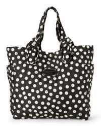 Marc By Marc Jacobs | Black & White Medium Tate Dot Tote | Lyst