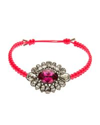 Swarovski   Red Pink Bracelet   Lyst