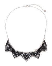 Swarovski - Black Silver-Tone Best Necklace - Lyst