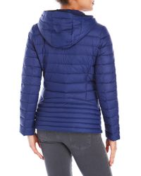 MICHAEL Michael Kors - Blue Packable Down Fill Parka - Lyst