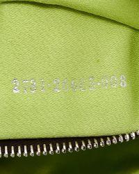 Fendi - Black Leather Zip Front Satchel - Lyst
