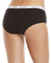 Calvin Klein - Gray Two-pack Carousel Hipster Panty - Lyst