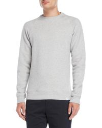 Norse Projects - Gray Ketel Classic Crew Sweatshirt for Men - Lyst