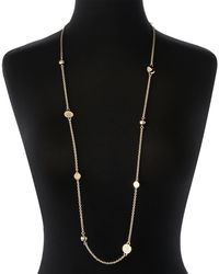 Marc By Marc Jacobs - Metallic Gold-Tone Double Wrap Necklace - Lyst