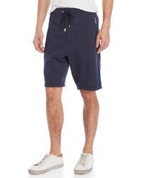 Vilebrequin - Blue Dramon Terry Shorts for Men - Lyst