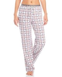Psycho Bunny - Multicolor Knit Logo Lounge Pants - Lyst