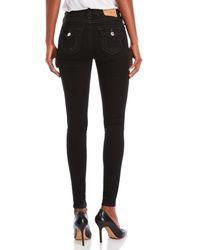 True Religion - Black High-rise Super Skinny Jeans - Lyst