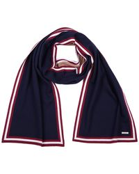 Bally - Blue Men's Wool Scarf for Men - Lyst