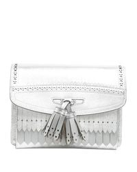 Burberry - Metallic Fringed Crossbody Bag - Lyst