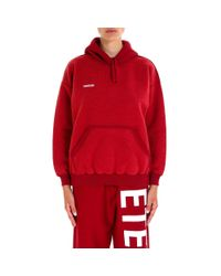 Vetements - Red Inside Out Hoodie - Lyst
